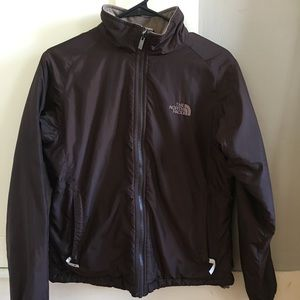 Women's brown North Face Jacket size S